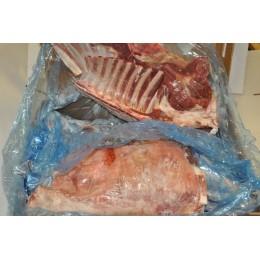 Chèvre surgelée entière ou demi, coupée en 6 ou 3 (France)