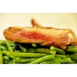 Travers économique frais de porc noir ibérique (Espagne)