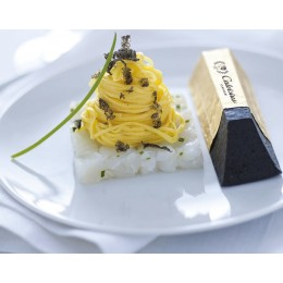 Lingot  de caviar Calvisius( Acipenser transmontanus, Calvisius, Italie)