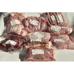 Colis Familial Frais : Boeuf Veau Porc (Sud-Ouest, France)
