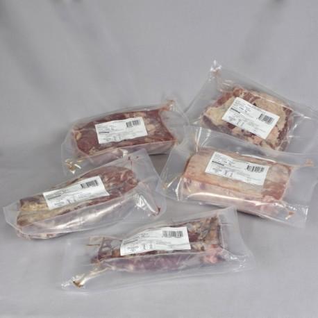 Colis de porc ibérique congelé
