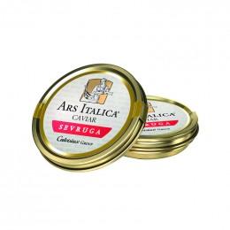 Caviar Sevruga d'esturgeon étoile (Ars Italica, Acipenser stellatus, Italie)