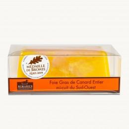 Foie gras de canard IGP Sud Ouest mi-cuit en terrine 400g (Sélectio, France)