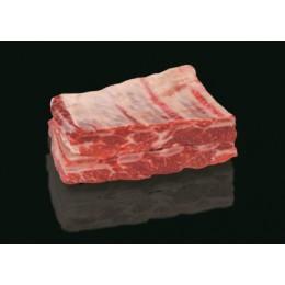 Chuck short ribs 2-5 de Boeuf Black Angus surgelé (USA)