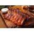 Travers charnu de porc noir ibérique (Au détail frais, Salamanca, Espagne)