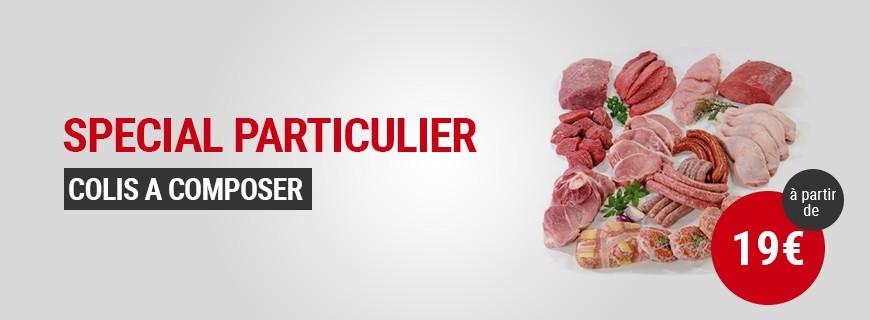 Particulier colis viande